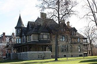 National Register of Historic Places listings in Winnebago County, Wisconsin - Image: Havilah Babcock House Neenah Wisconsin