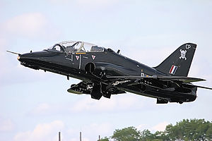 RAF Leeming - A BAE Hawk of No. 100 Squadron
