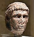 Head of Ptolemy X, from Egypt, Ptolemaic period, 2nd century BCE. Neues Museum, Germany.jpg