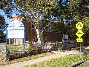 Heathcote, New South Wales - Heathcote Public School