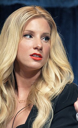 Heather Morris, die de rol van Brittany Pierce vertolkt