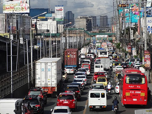 Heavy traffic sa EDSA-Tramo (Pasay)(2017-08-04)