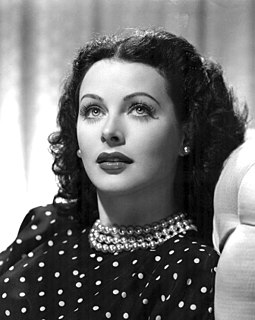Hedy Lamarr Austrian-American actress and co-inventor of an early technique for spread spectrum communications and frequency hopping