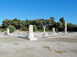 Heiligtum des Dionysos (Yria) 05