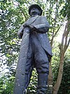 Sassenhein, standbeeld van Henk Aalderink