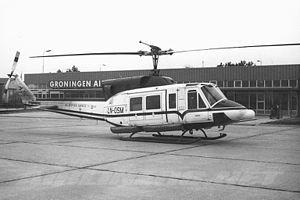 CHC Helikopter Service - Bell 212 at Groningen Airport Eelde