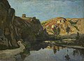 Henri-Joseph Harpignies (1819-1916) - River and Hills - NG4582 - National Gallery.jpg