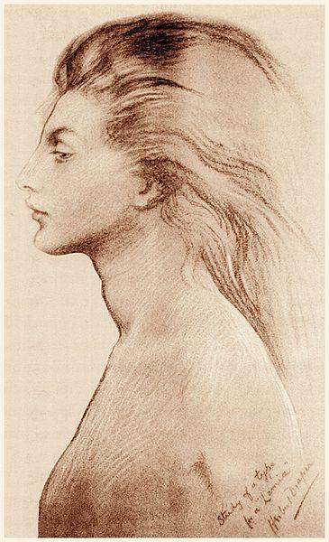 File:Herbert James Draper, Study for Lamia.jpg