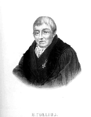 Herman Tollius - Herman Tollius (1742-1822)