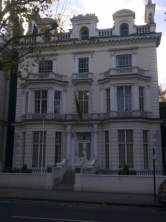 High Commission of Cameroon, London - Image: High Commission of Cameroon in London 1