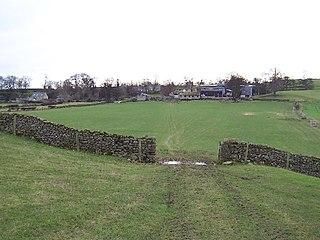 High Ellington Village in North Yorkshire, England