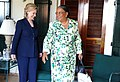 Hillary Rodham Clinton Meets With Haitian Presidential Candidate Mirlande Manigat.jpg
