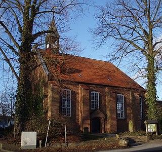 Himmelpforten Place in Lower Saxony, Germany