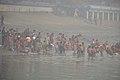 Hindu Devotees Taking Holy Dip In Ganga - Makar Sankranti Observance - Babu Ghat - Kolkata 2018-01-14 6924.JPG