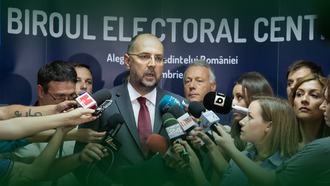 Democratic Alliance of Hungarians in Romania - President of the UDMR KELEMEN Hunor as a candidate at the 2014 Romanian Presidential Elections