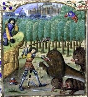 Histoires de Troyes - Nemeian Lion