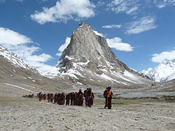 Historic Eco Pad Yatra in the Himalayas in 2009