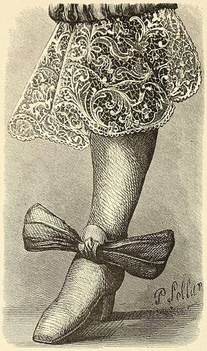 Fanny Bury Palliser - Illustration from History of Lace (1875) by Fanny Bury Palliser