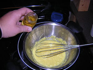 Whisky with food - Image: Hollandaise sauce with whisky