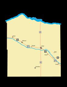 Nebraska Map By County.Holt County Nebraska Wikipedia