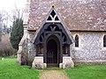 Holy Trinity Church, East Grimstead - Porch - geograph.org.uk - 349502.jpg