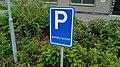 Hommesplein ambulance parking sign, Winschoten (2019) 02.jpg