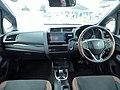 Honda FIT HYBRID・L Honda SENSING (DAA-GP5) interior.jpg