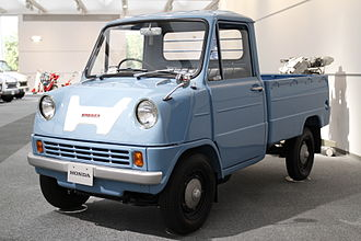 Honda - Honda's foray into four wheelers started with Honda T360 in 1963