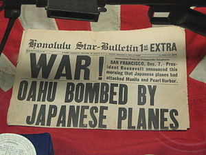 Honolulu Star-Bulletin - Honolulu Star-Bulletin 1st extra edition. December 7, 1941