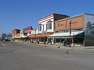Hope, Indiana - Northside of public square