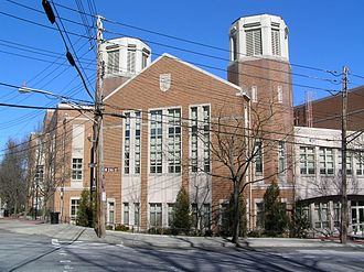 Horace Mann School - Main entrance