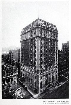 Hotel Claridge, New York, 1910.jpg