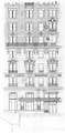 Hotel Martinique (New York City), lower part, 32nd Street elevation.png