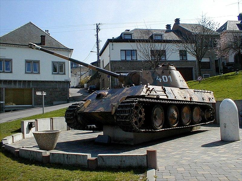 Panzer Panther à Houffalize