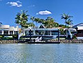 Houses in Sanctuary Cove seen from Coomera River, Queensland 13.jpg