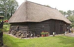 Nunspeet - Image: Houten veeschuur vroeg 20e eeuws