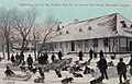 Hudson's Bay Company, Lower Fort Garry, Manitoba, Canada, Delivering Fur, 1913.jpg