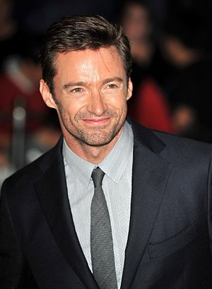 English: Hugh Jackman at the Sydney premiere f...