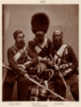 Hughes & Mullins after Cundall & Howlett - Heroes of the Crimean War - Joseph Numa, John Potter, and James Deal of the Coldstream Guards.png