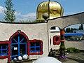 Hundertwasser Architektur in Altenrhein Markthalle - panoramio (1).jpg