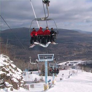 Hunter Mountain (New York) -  Hunter Mountain chairlift