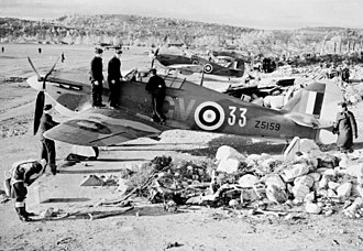 Operation Benedict - Hurricanes of 134 Squadron RAF at Vaenga (now Severomorsk), 1941