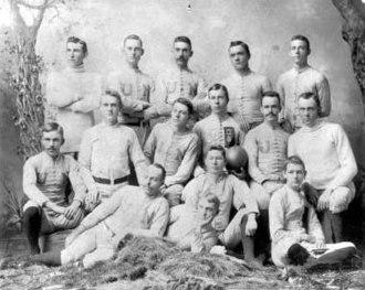 1890 Nebraska Old Gold Knights football team - 1890 Nebraska Old Gold Knights football team