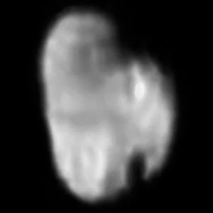 Hydra (moon) - Image: Hydra (moon) from 231 000 kilometres
