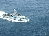 ICGS Abhiraj patrolling in Gulf of Mannar.jpg