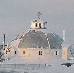 Iglesia Our Lady of Victories en Inuvik.