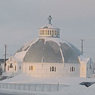 Inuvik - Our Lady of Victory church