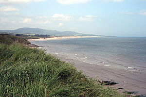 Irish Sea - Brittas Bay, on the County Wicklow coast