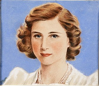 "Princess Margaret, Countess of Snowdon - William Timym, ""HRH Princess Margaret"", c. 1944"