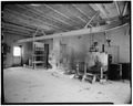 INTERIOR, GENERAL VIEW - U.S. Naval Academy, Deferrization Plant, Annapolis, Anne Arundel County, MD HABS MD,2-ANNA,65-11-5.tif